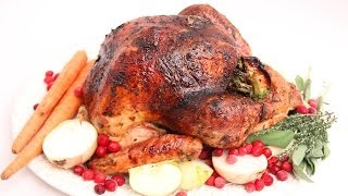 Apple Cider Glazed Thanksgiving Turkey Recipe - Laura Vitale - Laura in the Kitchen Episode 673