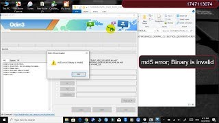 How to Fix Samsung Combination file md5 error! Binary is invalid Problem is Solved ✅
