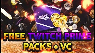 HOW TO GET FREE TWITCH PRIME LOOT PACKS! FREE PACKS & VC! NBA 2K19