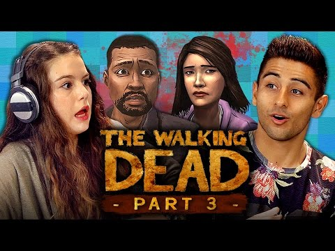 LIFE OR DEATH!!! - THE WALKING DEAD: Episode 1 - Part 3 (Teens React: Gaming)