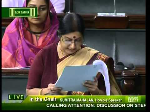 Smt. Sushma Swaraj on step taken by the government for Indian citizens stranded in Iraq