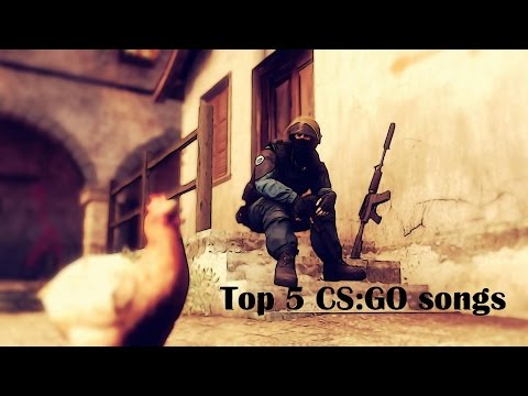 TOP 5 CSGO SONGS (SMOKE MID EVERYDAY,VACation DAY,YOU'RE SILVER) NEW 2017