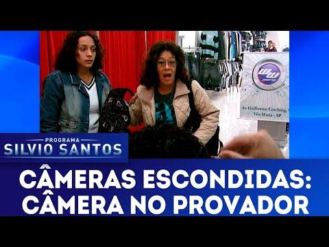 Câmera no Provador   Câmeras Escondidas (02/09/18)