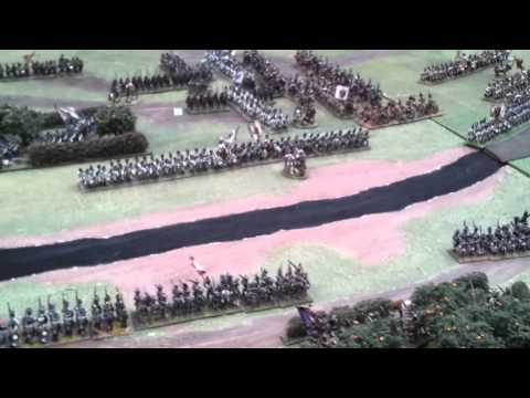 Wargames Holiday Centre Battle of Marengo part 1