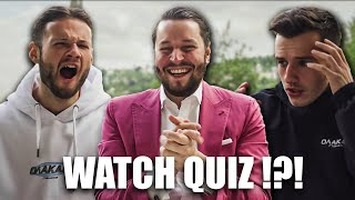 Uhren Quiz mit Inscope & Tim Gabel 🥳 (+Bestrafung) *English SUB*
