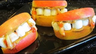 How To Make Scary Good Halloween Vampire Teeth Snack Treats