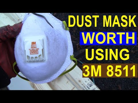 The Only Dust Mask Worth Using 3M 8511, N95  Link Is In The Description.