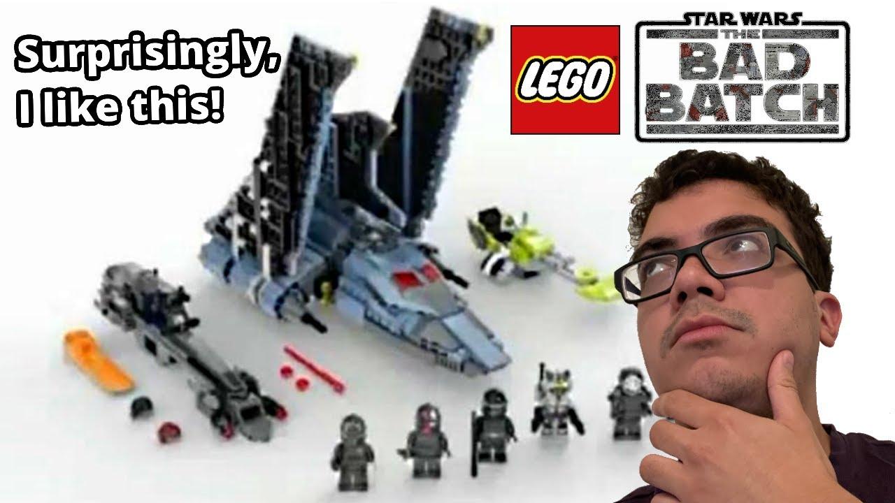 LEGO Star Wars Bad Batch Shuttle LEAK ...