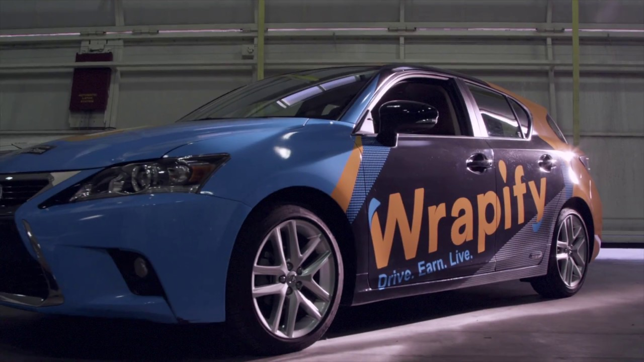 Get Paid For Car Wrap Advertising: Get Paid To Drive With Wrapify