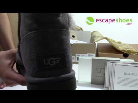 UGG Australia Bailey Button Grey 5803