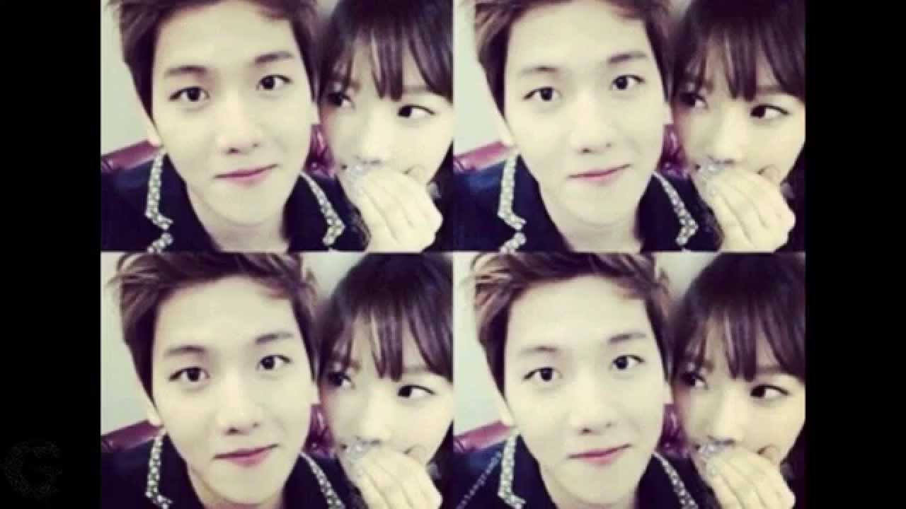 Fans catch new lovestagram posts by Taeyeon and Baekhyun
