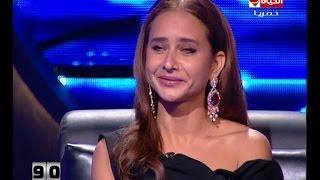بالفيديو.. نيللي كريم معلقة على انتقادها بسبب قبلتها لهاني سلامة: «دي بوسة يا جماعة!»