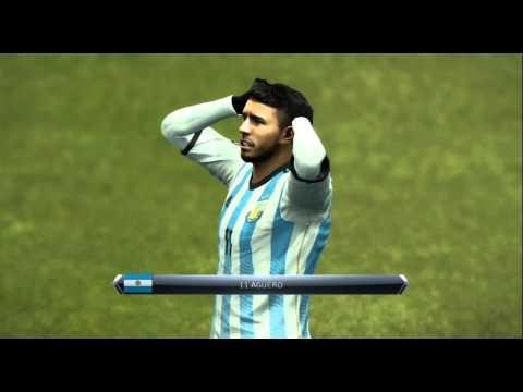 Preview Argentina vs Brazil PES (ss2015 - 2016)