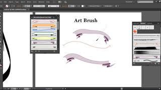 13 03 Calligraphic brush + Art brush