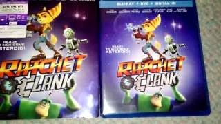 Ratchet and Clank: The Movie - Blu-Ray/DVD Combo Pack Unboxing!