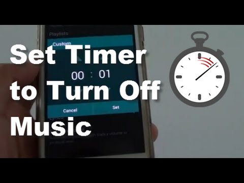 Samsung Galaxy S5: How to Set a Timer to Automatically Turn Off Music Player