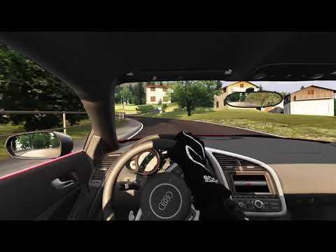 Audi R8 at Trento Bondone | Assetto Corsa Gameplay |