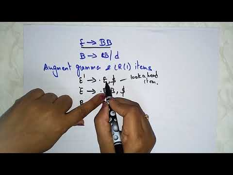 CLR (1) Parsing | LR(1) Items | Part-1/3 | Compiler Design | Lec-22 | Bhanu Priya
