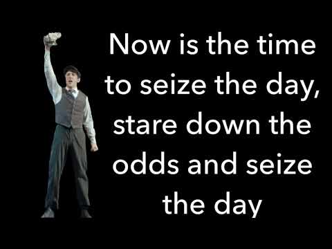 Newsies-Seize the Day lyrics
