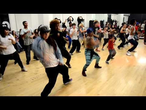 Dance Class with les Twins - Choregraphy @International Dance Academy - Hollywood
