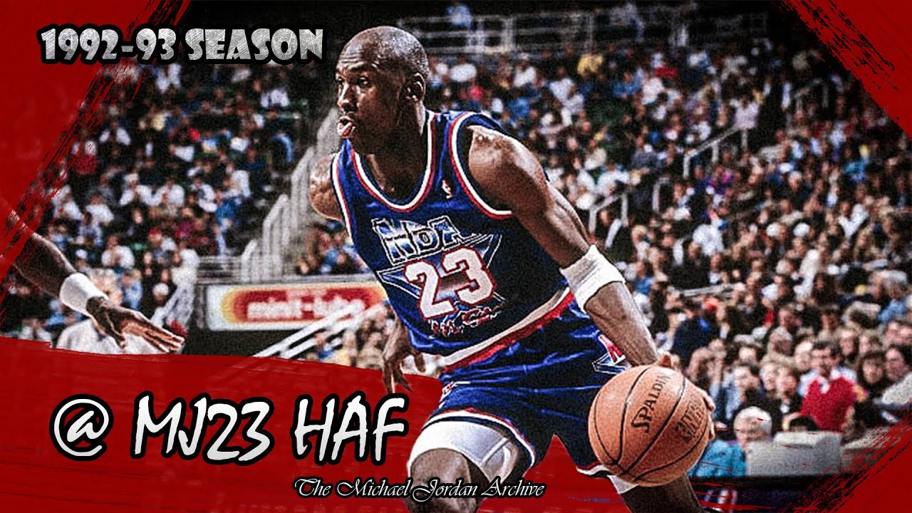 9fec1b1ba1c Michael Jordan Highlights (1993 All-Star Game) - 30pts - YouTube