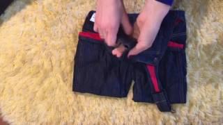 Обзор Oshkosh джинсовый комбинезон на Флисе