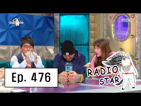 [RADIO STAR] 라디오스타 - 'Shy Boy' Brave Brothers, have a manicure 20160504