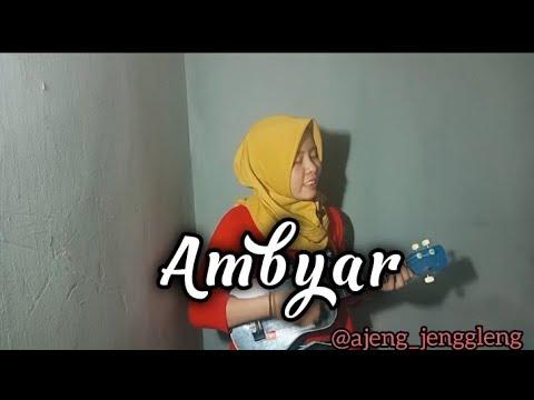 Ambyar Xaluna Cover Kentrung By Ajeng Jenggleng Youtube