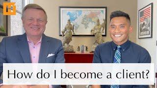 How do I become a client?