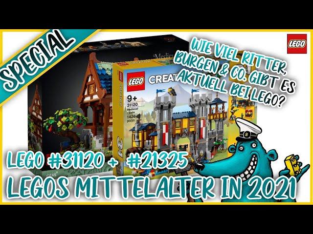 Ritter, Burgen & Co. bei LEGO: Was bieten euch die mittelalterliche Burg und Schmiede im Paket?