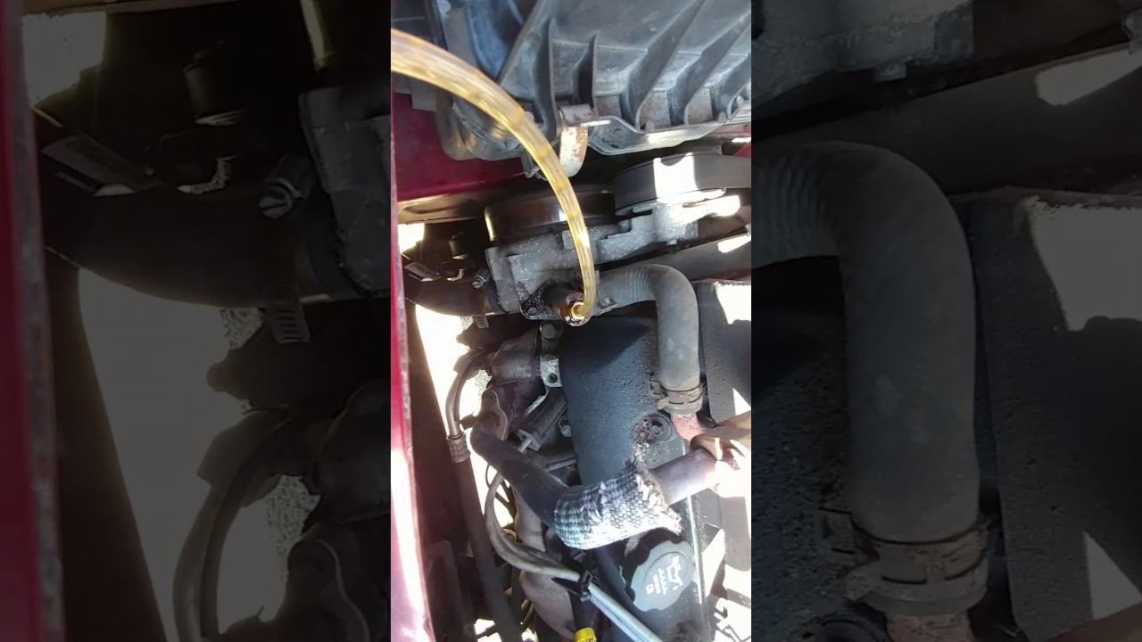 Bleeding Cooling System 2006 Equinox