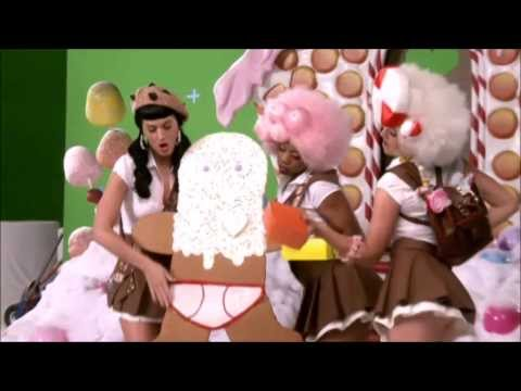Behind the scenes of California Gurls by Katy Perry Part 1