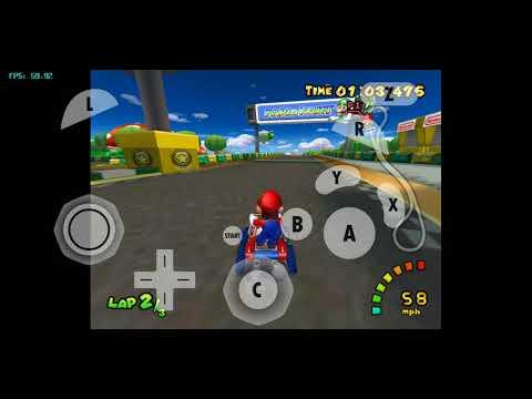 Mario Kart Double Dash On A Samsung Galaxy S9