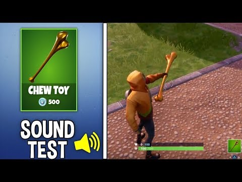 *NEW* CHEW TOY PICKAXE Gameplay In Fortnite!