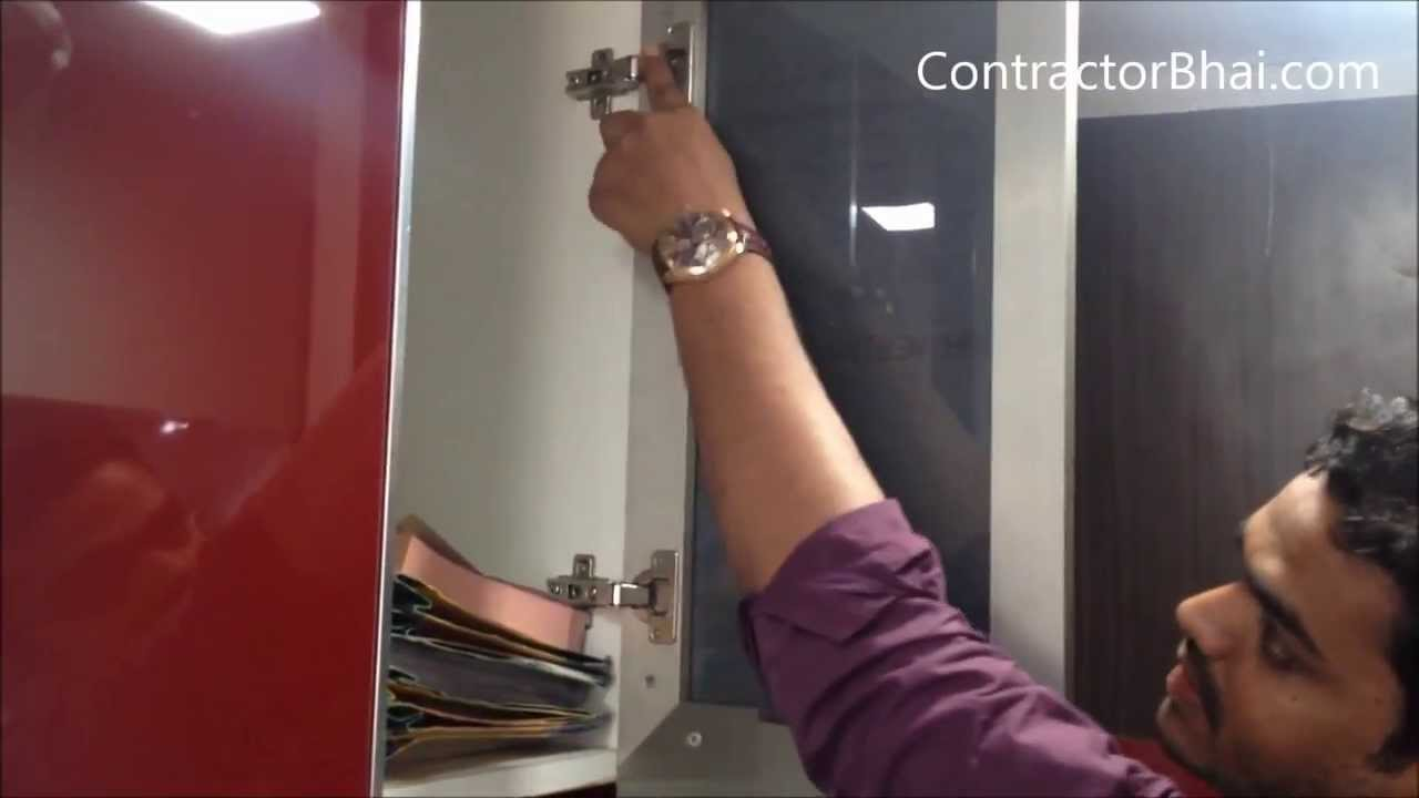 Shutters For Kitchen Cabinets Aluminum Profile Shutters Kitchen By Contractorbhaicom Youtube