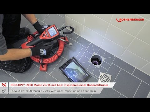 ROSCOPE i2000 – Inspection and Locating Technology / Inspektions & Ortungstechnik