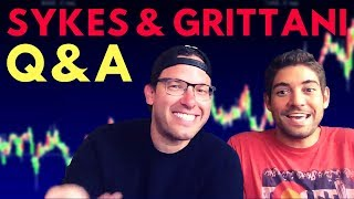 Penny Stock Trading Questions ANSWERED | Q&A With Sykes and Grittani