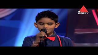 Sumeera Adeepa - Oruwaka Pawena ඔරුවක පාවෙන - Sirasa Junior Super Star 2017