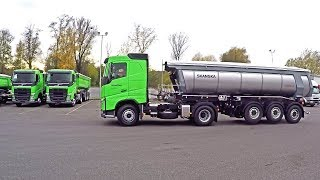 Volvo trucks for Skanska