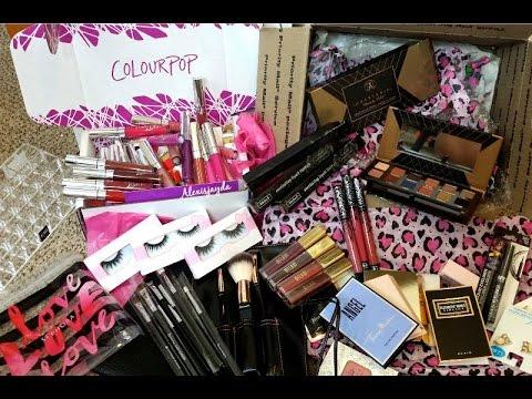 Huge Makeup Haul Best Birthday Gift New Makeup Goodies