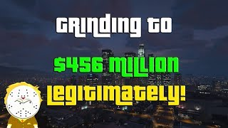 GTA Online Grinding to $456 Million Legitimately And Helping Subs