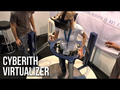 Cyberith Virtualizer und Oculus Rift: Walking in VR