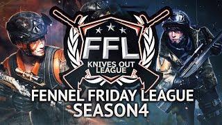 【荒野行動】FFL12月度 第1週 Fennel ふぇいたん視点