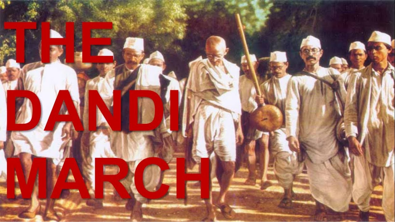mahatma gandhi dandi march speech