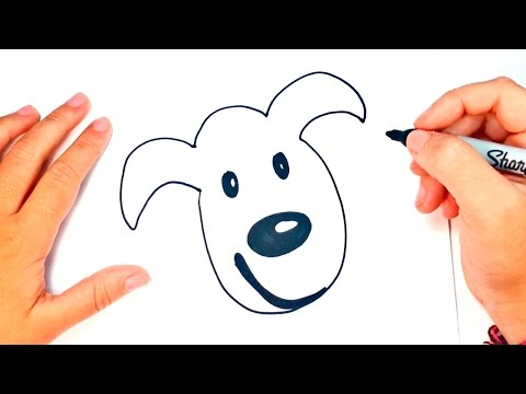 How To Draw A Dog For Kids | Dog Drawing Lesson Step By Step
