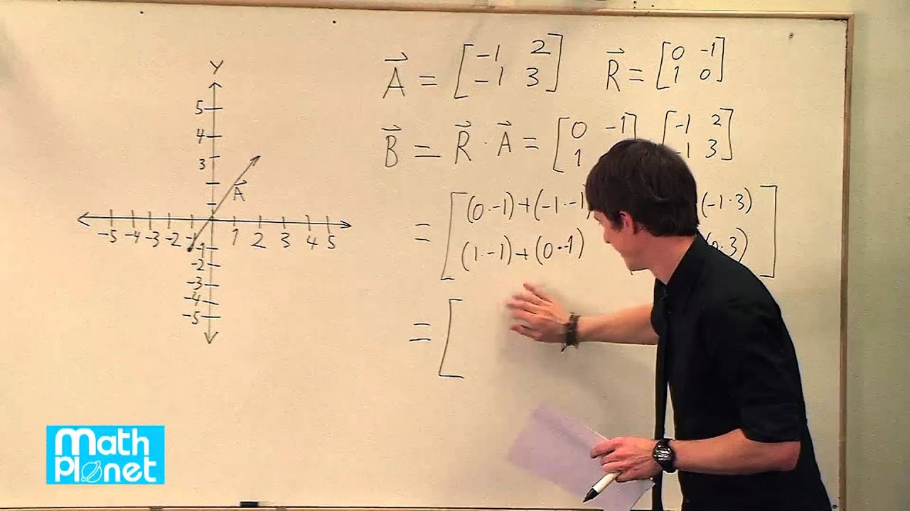 Transformation using matrices (Geometry, Transformations) – Mathplanet