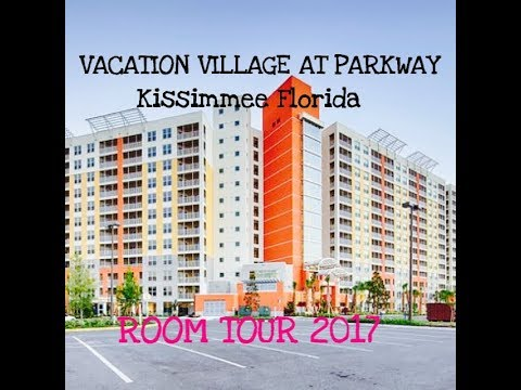 Full Room Tour Of Vacation Village At Parkway In Kissimmee Florida- 2017