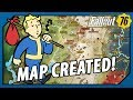 FALLOUT 76 - Full MAP of WEST VIRGINIA Created in HD!