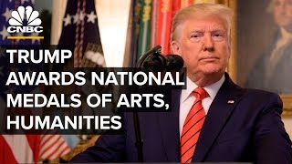 WATCH LIVE: President Trump presents the National Arts and Humanities Medals – 11/21/2019