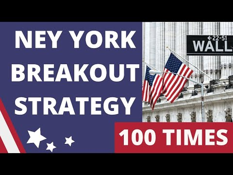 I TESTED New York Breakout Strategy 100 TIMES with $100 – Forex Scalping Strategy |FROM A SUBSCRIBER
